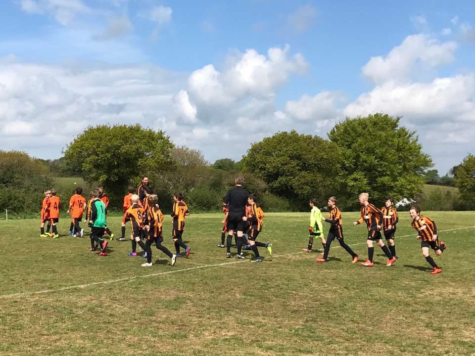 Lydford Foxes U11s v Horrabridge
